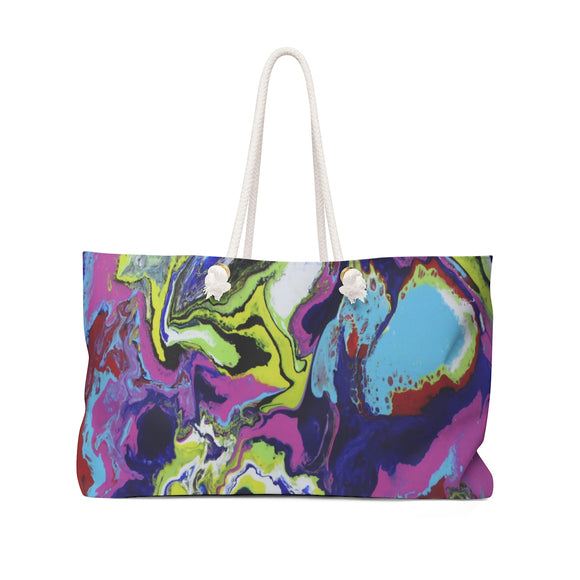 Explosive Colors Weekender Bag