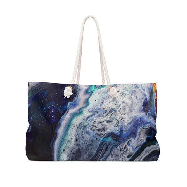 Lava Meets Water Weekender Bag