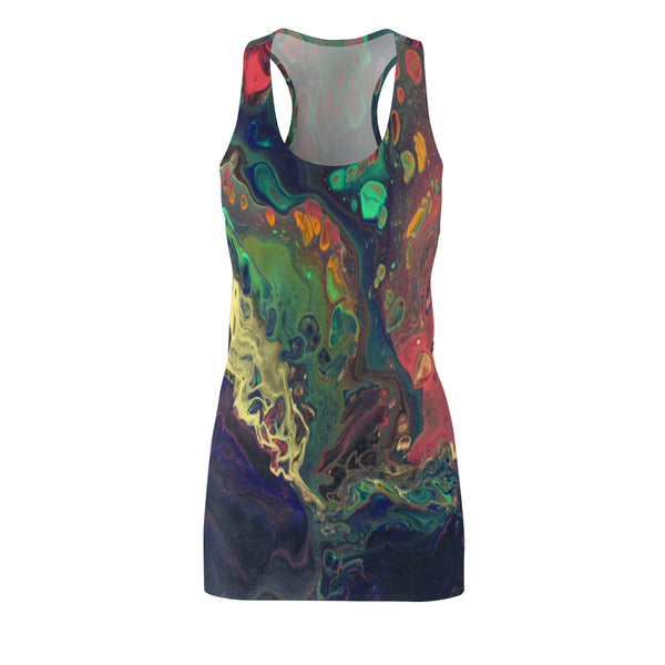 Oil Slick Racerback Dress