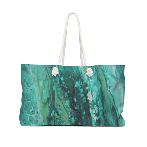 Envious Green Weekender Bag