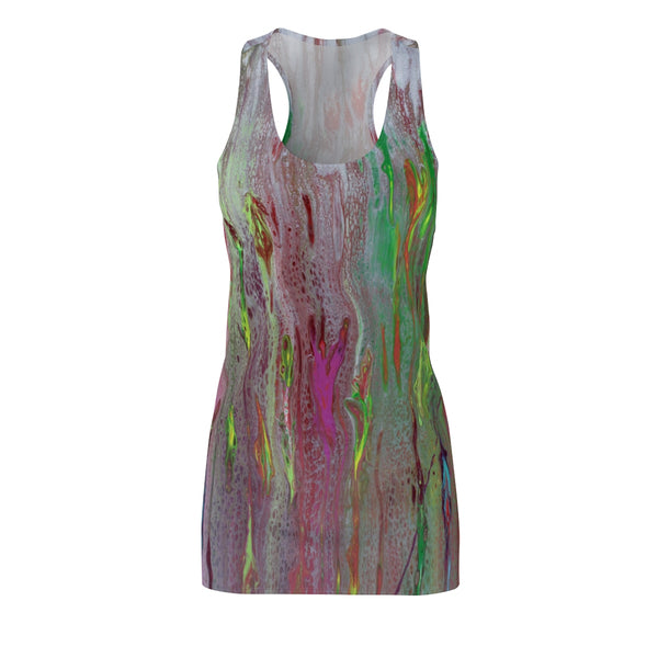 Rainbow Eucalyptus Racerback Dress