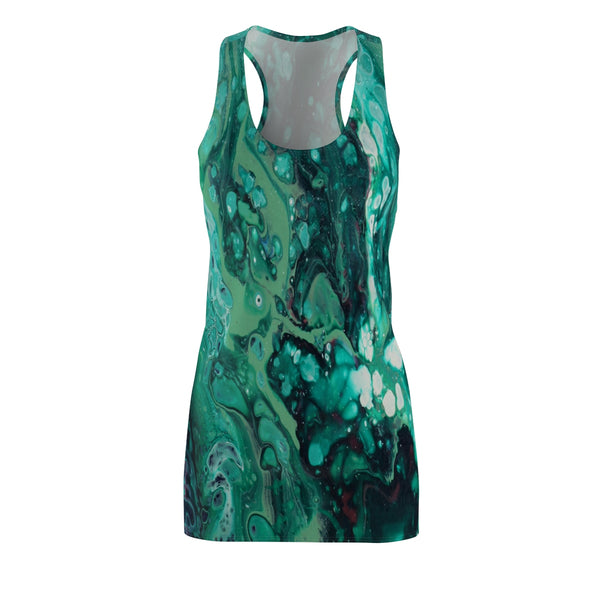 Envious Green Racerback Dress