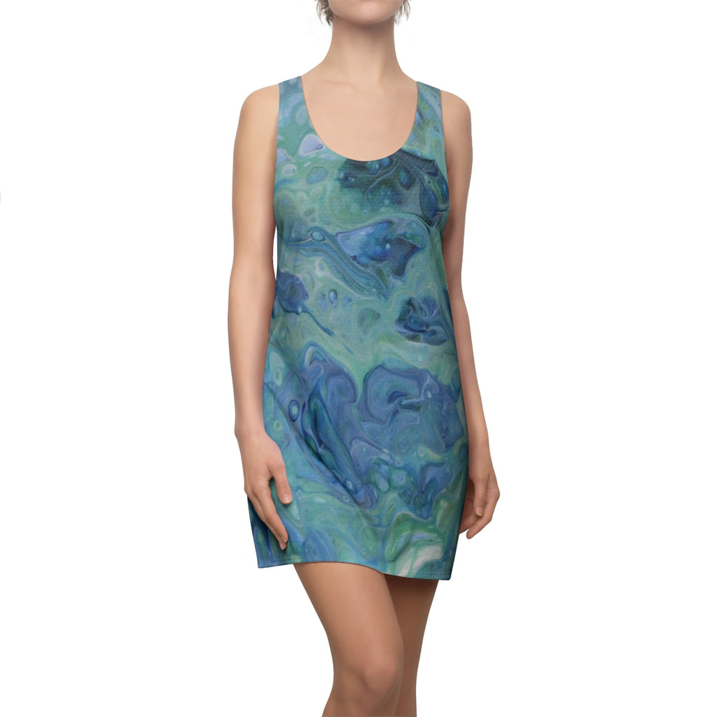 Sea Foam Racerback Dress