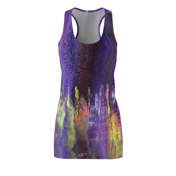 Purple Fantasy Racerback Dress