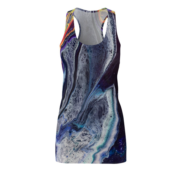 Lava Meets Water Racerback Dress