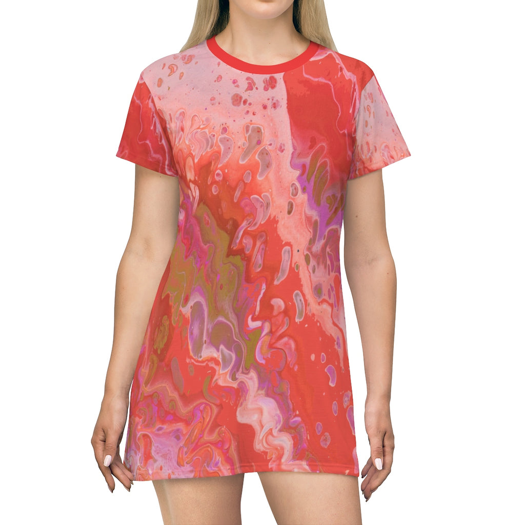 Dreamsicle T-shirt Dress