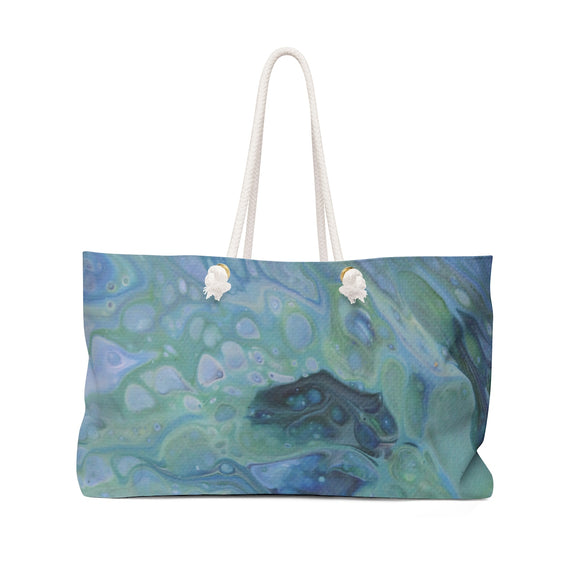 Sea Foam Weekender Bag