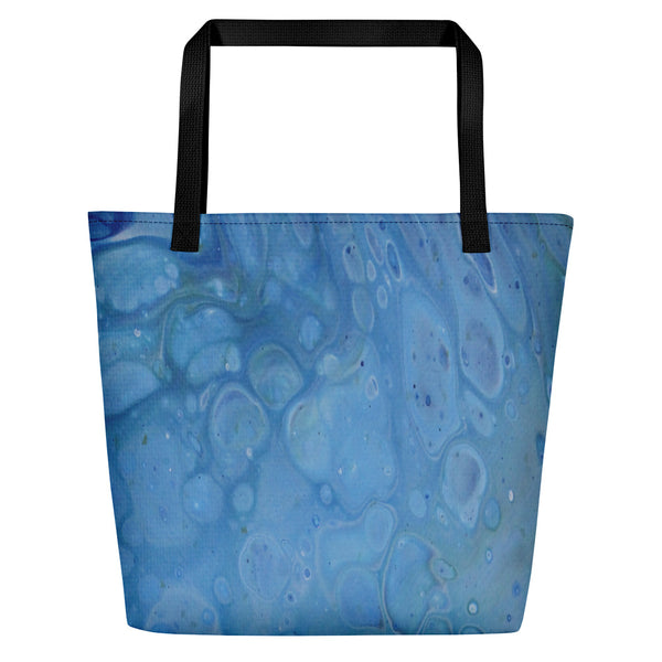 Beach Bag-Scuba bubbles