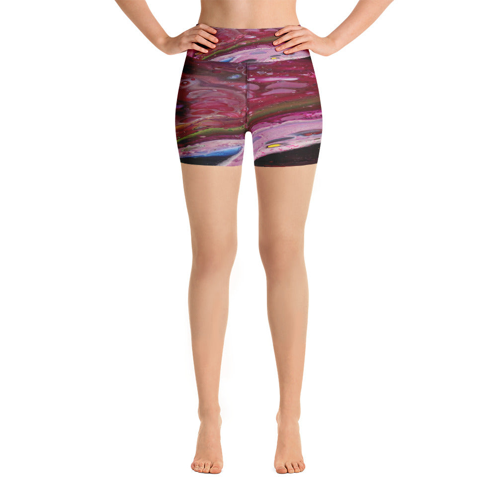 Cranberry Dream Yoga Shorts