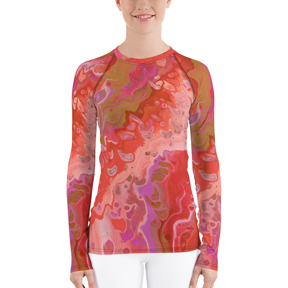 Dreamsicle Rash Guard