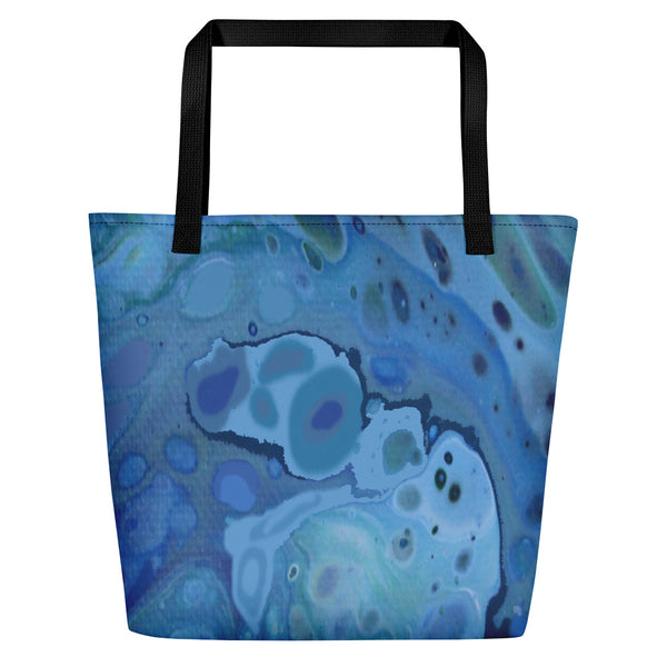 Beach Bag-Abstract Water