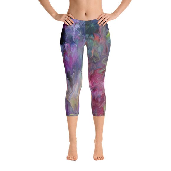 Artist Touch Capri Leggings