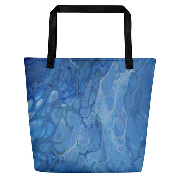Beach Bag-Snorkel Blue
