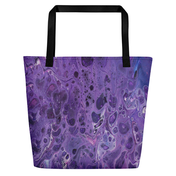 Shy Violet Beach Bag