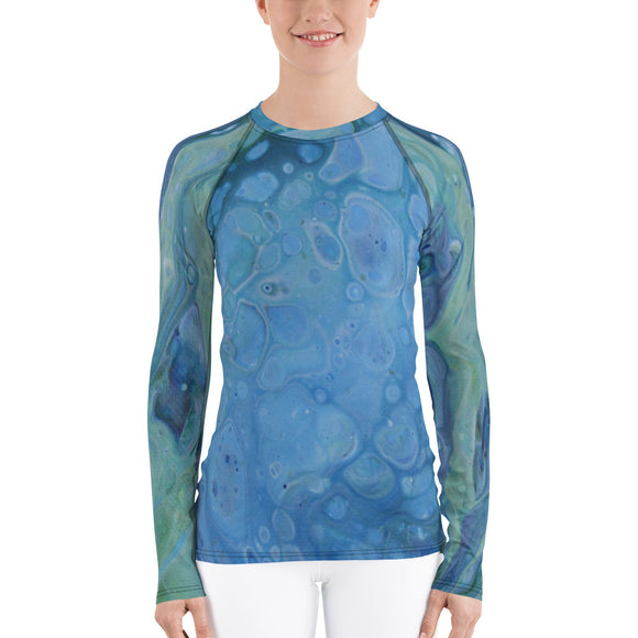 Sea Foam Rash Guard