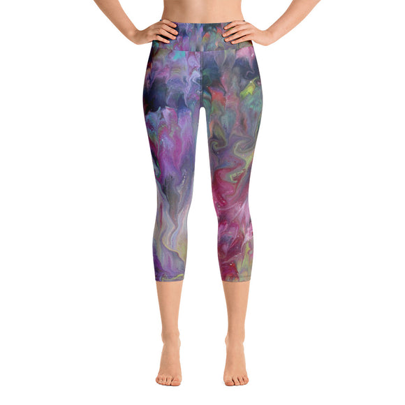 Artist Touch Yoga Capri Leggings