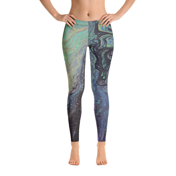 Galaxy Swirl Leggings