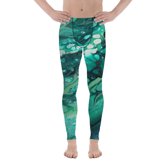 Envious Green Men's Leggings