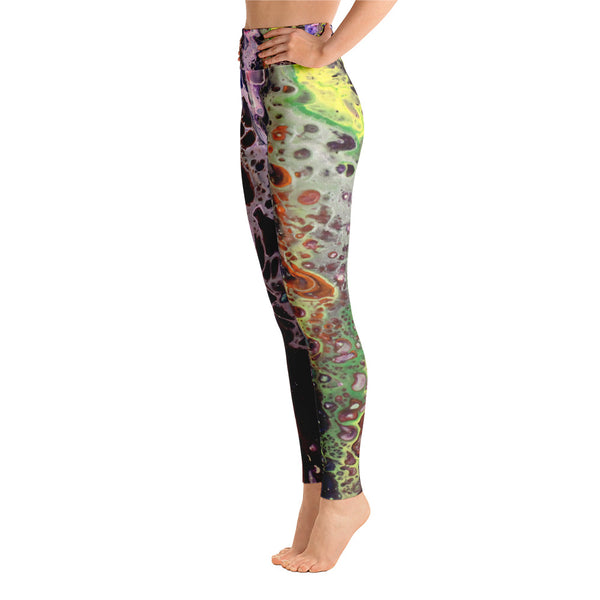 Purple Lust Yoga Leggings