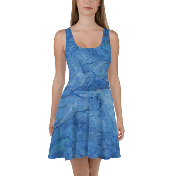 Ocean Views Skater Dress