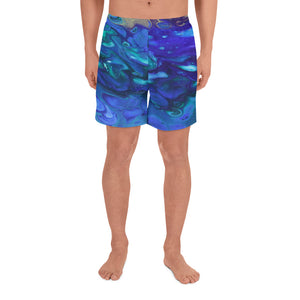 Deep Water Blues Shorts