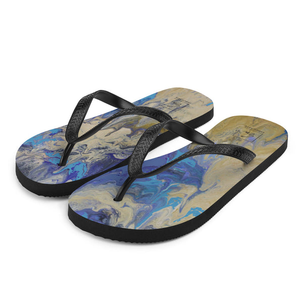Sandy Beaches Flip-Flops