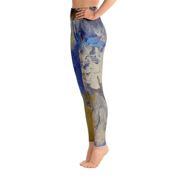Sandy Beaches Yoga Leggings