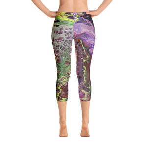 Purple Lust Capri Leggings