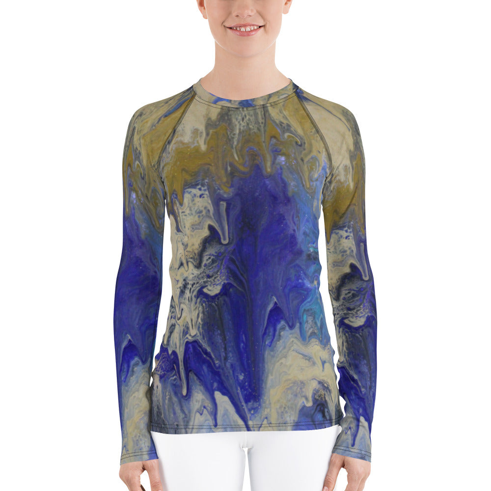 Sandy Beaches Rash Guard