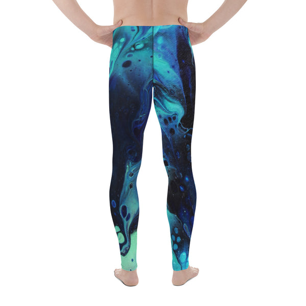 Green Slide Men's Leggings