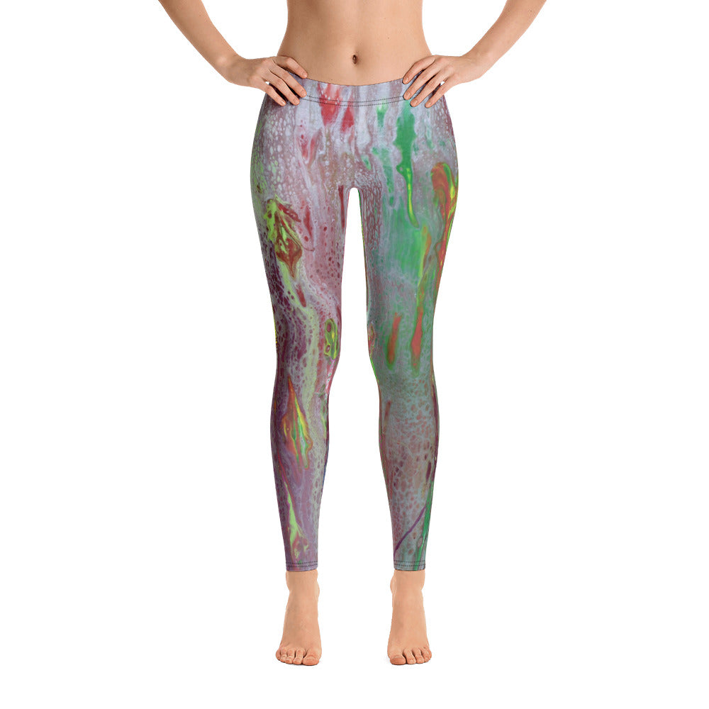Rainbow Eucalyptus Leggings