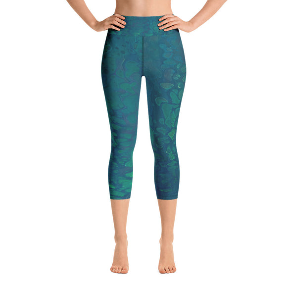 Aquawoman Yoga Capri Leggings
