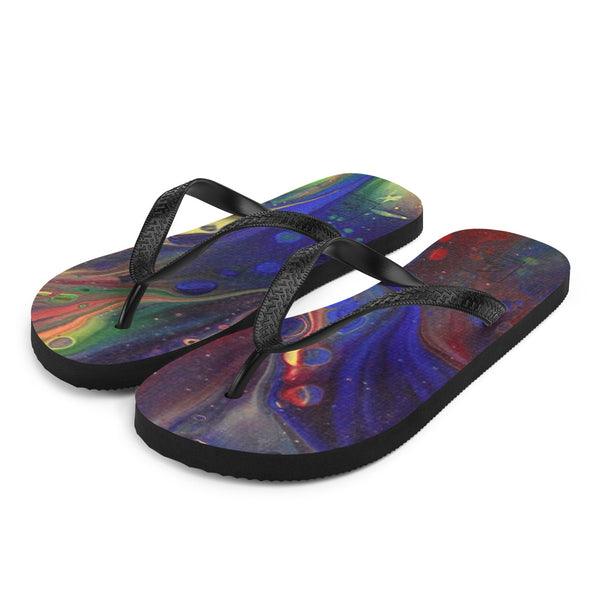 Rainbows Galore Flip-Flops