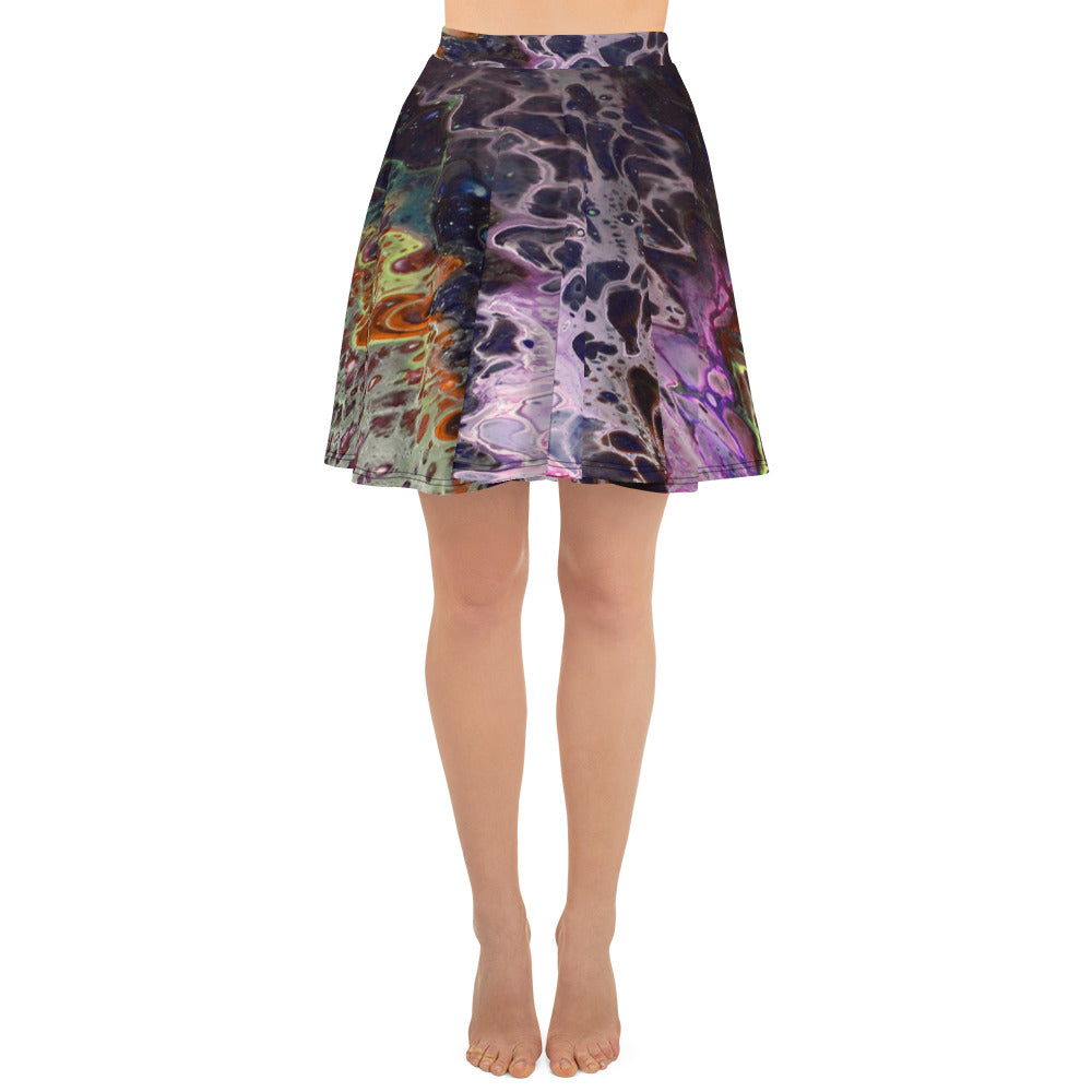 Purple Lust Skater Skirt