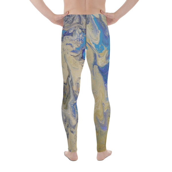 Sandy Beaches Men's Yoga Leggings