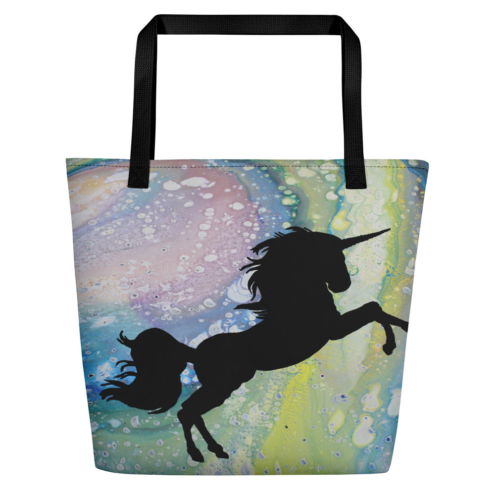 Mythical Creature Beach Bag
