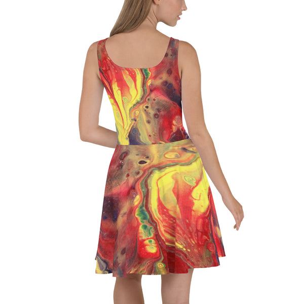 Sunshine Joy Skater Dress