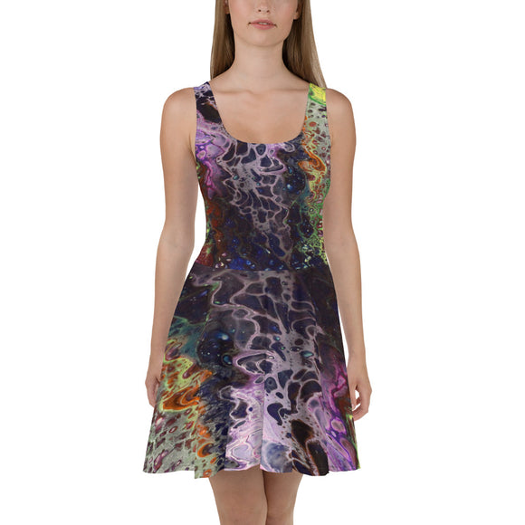 Purple Lust Skater Dress