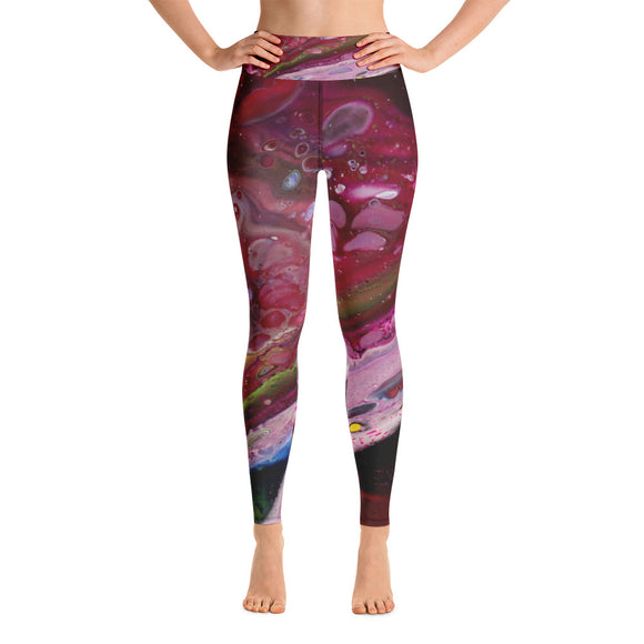 Cranberry Dream Yoga Leggings
