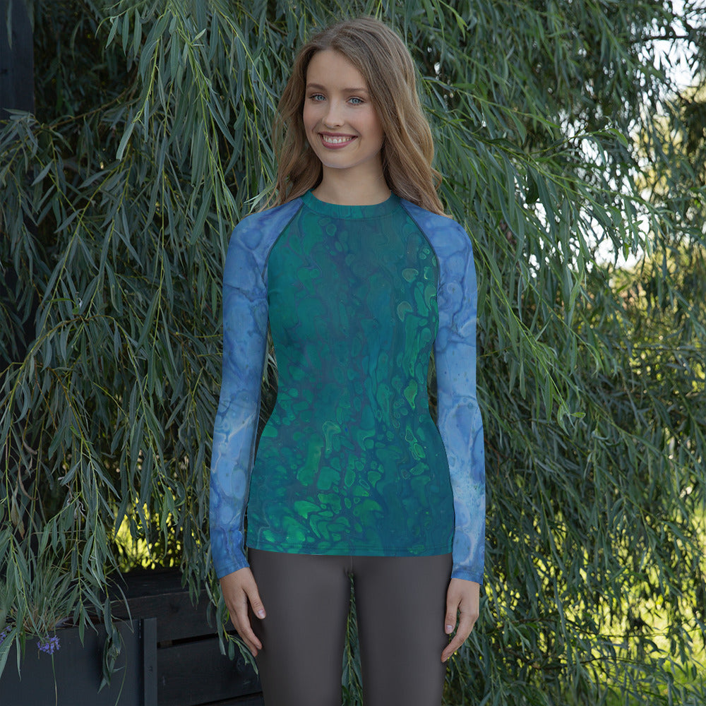 Aquawoman Rash Guard