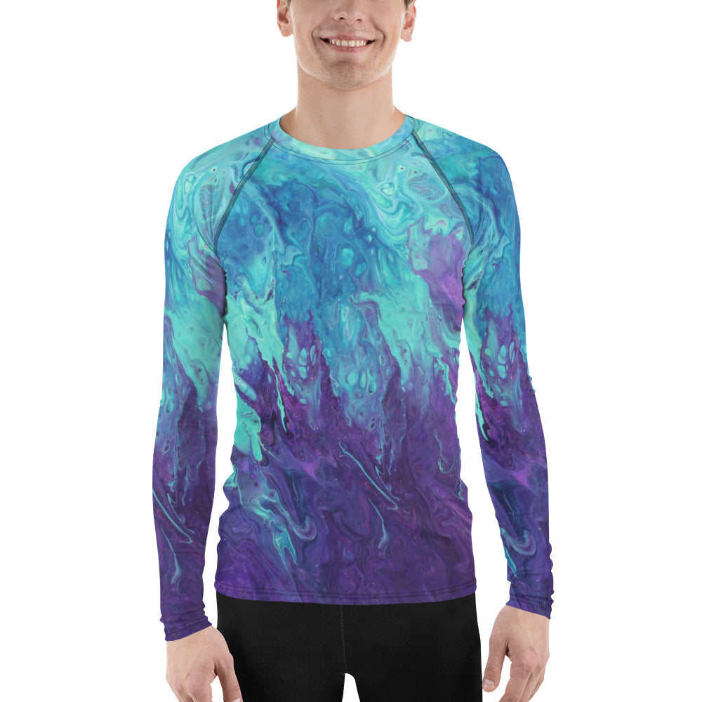 Lavender Twist Rash Guard