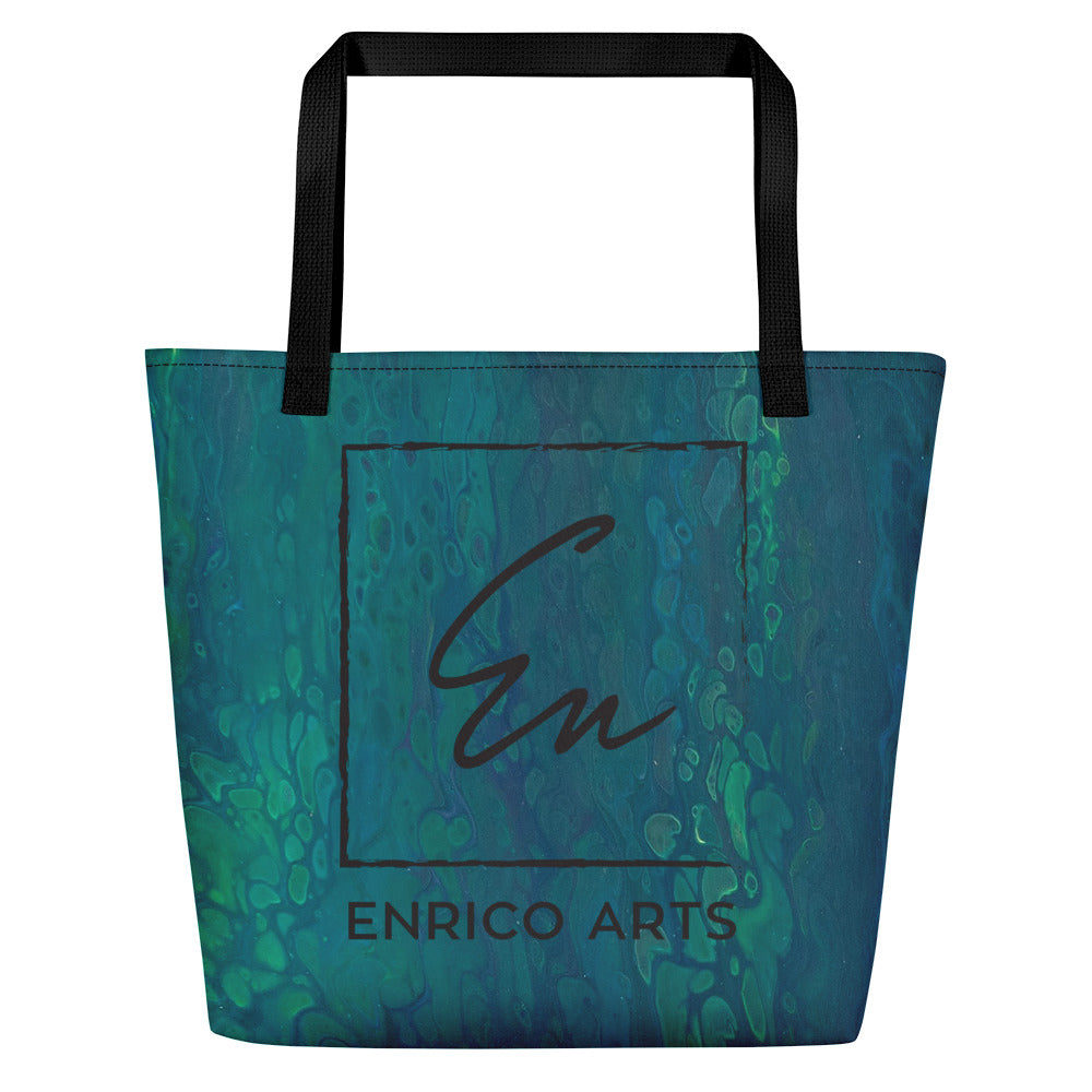 Beach Bag-Sea Green