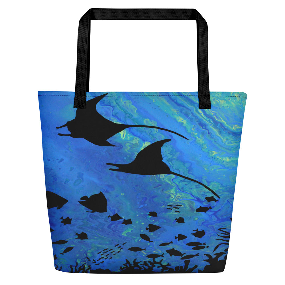 Aquarium Beach Bag