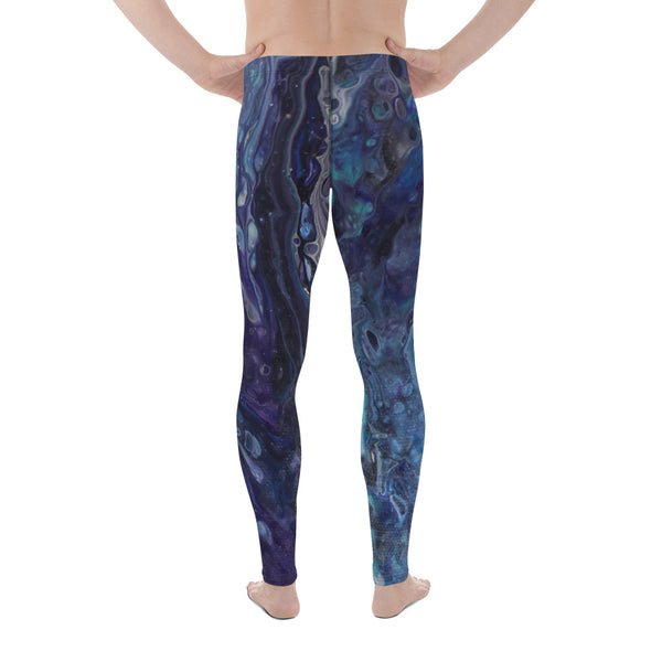 Dripping in Purple Men's Leggings