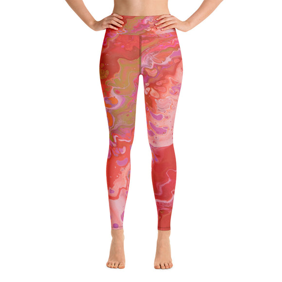 Dreamsicle Yoga Leggings