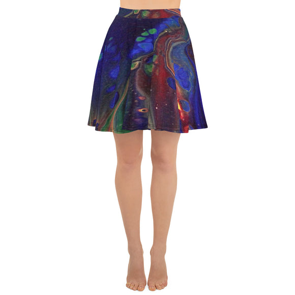 Rainbow Love Skater Skirt