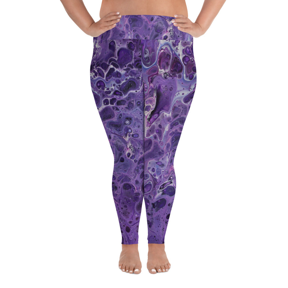 Shy Violet Plus Size Leggings