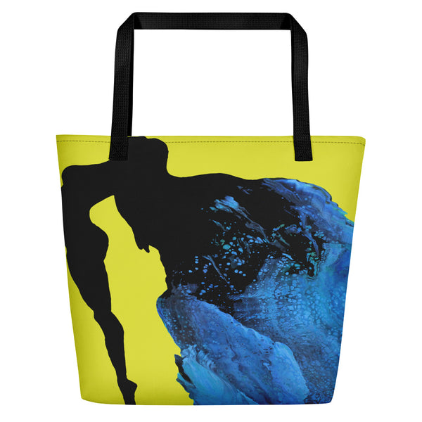Emerging From Water Beach Bag