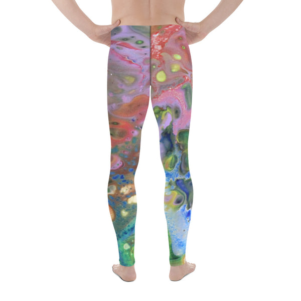 Multi-Colored Men's Leggings