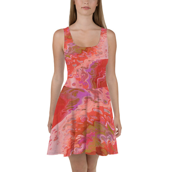 Dreamsicle Skater Dress